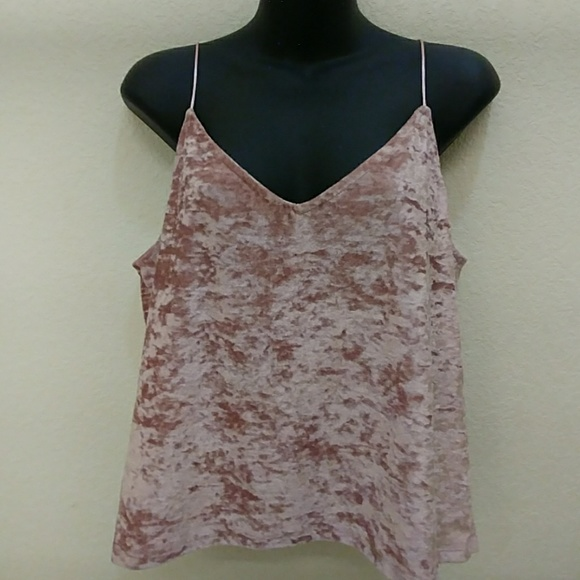 c40c7bdfb8e Divided Tops | By Hm Crushed Velvet Tank Top | Poshmark
